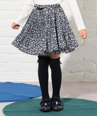 Kumikyoku (組曲) - 組曲KIDS 【110~140cm】フラワープリーツ スカート