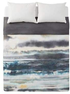 Michael Aram After The Storm 300 Thread Count Cotton Sateen Duvet Cover