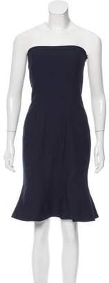 Cinq à Sept Strapless Knee-Length Dress