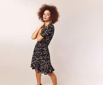 Oasis CRUSHED DITSY FLORAL DRESS