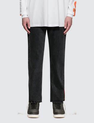 Heron Preston Parachute Denim 5-pocket Pants