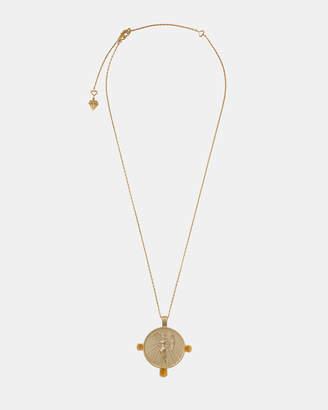Wanderlust + Co Eos Goddess Gold Necklace