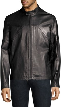 HUGO Lutger Leather Jacket