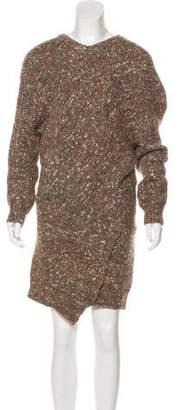 Stella McCartney Long Sleeve Mini Sweater Dress