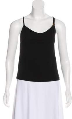 Anthony Vaccarello Sleeveless Casual Top