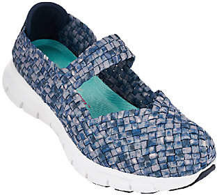 As Is Skechers Woven Mary Janes with Memory Foam - Good Vibes $29.90 thestylecure.com