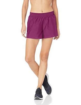 "Core 10 Amazon Brand Women's Plus Size Woven Run Short - 3"""