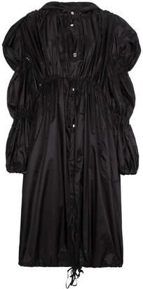 Blindness oversized puff shoulder coat