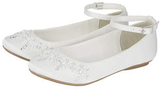 Monsoon Beautiful Beaded Ballerina Shoes