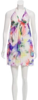 ABS by Allen Schwartz Tie Dye Mini Dress