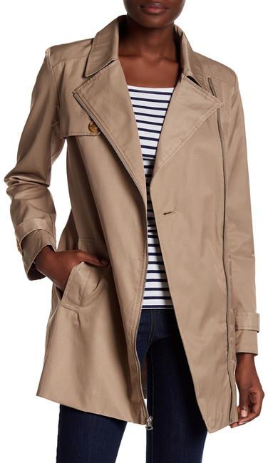 Tommy HilfigerTommy Hilfiger Notch Collar Zip Coat