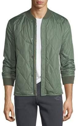 J Brand Men's Quilted Bomber Jacket
