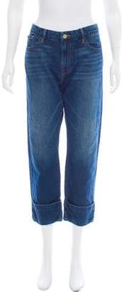 Frame Le Grand Garcon Mid-Rise Skinny Jeans