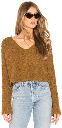 Free People Popcorn Pullover Sweater