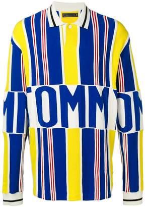 d4a929c9 Tommy Hilfiger striped logo polo jumper