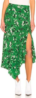 Veronica Beard Mac Skirt in Green Multi | FWRD