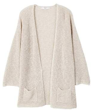 MANGO Open knit cardigan