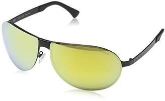 Police Men's S8843 Cube 4 Sport Sunglasses