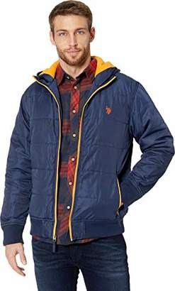 U.S. Polo Assn. Men's Hooded Puffer Jacket