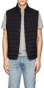 Ralph Lauren Purple Label MEN'S WHITWELL LIGHTWEIGHT DOWN-FILLED TECH-FABRIC VEST - BLACK SIZE L
