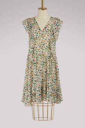 Vanessa Bruno Isaure silk dress