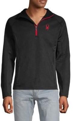 Spyder Textured Half-Zip Sweater
