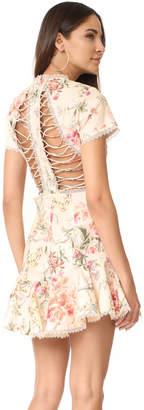 Zimmermann Mercer Flutter Dress $695 thestylecure.com