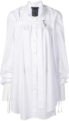 Ann Demeulemeester deconstructed oversized shirt