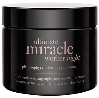 Philosophy 'Ultimate Miracle Worker Night' Multi-Rejuvenating Nighttime Serum-In-Cream $80 thestylecure.com