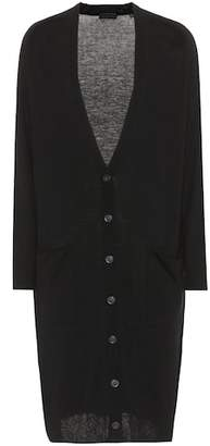 ATM Anthony Thomas Melillo Silk, wool and cashmere cardigan