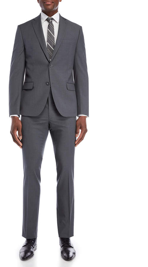 Michael Kors Two-Piece Grey Slim Fit Suit