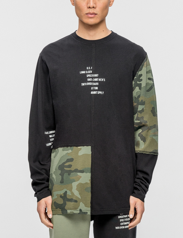 10.Deep 10.Deep Surplus Camo L/S T-Shirt