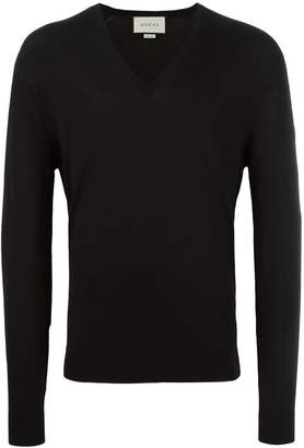 Gucci lightweight V-neck jumper