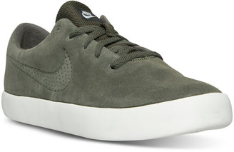 Nike Men's Essentialist Suede Casual Sneakers from Finish Line $79.99 thestylecure.com