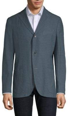 Boglioli K Jacket Multi-Plaid Sportcoat