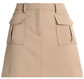 Theory Lupah Twill Mini Skirt