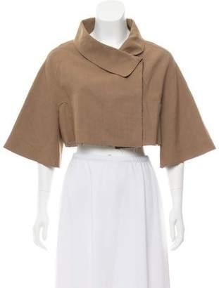 Marni Cropped Short Sleeve Jacket