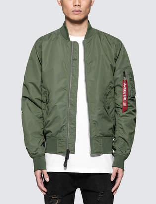 Alpha Industries L-2B Dragonfly Bloodchit Jacket with Reflective Bloodchit