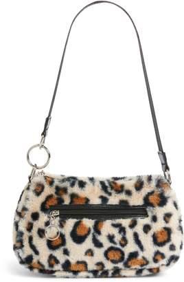 BP x Claudia Sulewski Faux Fur Shoulder Bag