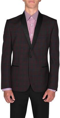 Asstd National Brand Everywhere Slim Fit Woven Windowpane Sport Coat