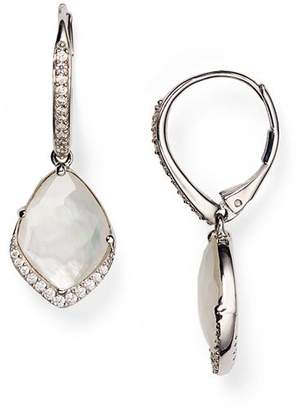 Nadri Pavé Mother-of-Pearl Drop Earrings