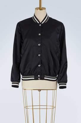 MAISON KITSUNÉ Satin teddy jacket