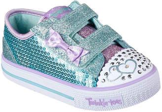 Skechers Shuffles Itsy Bitsy Girls Shoes - Toddler