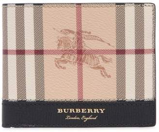 Burberry Check & Leather Classic Wallet