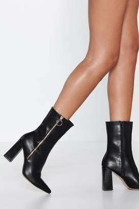 Nasty Gal Oh Really O-Ring Boot