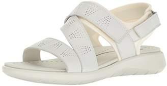 Ecco Women's Women's Soft 5 Cross Strap Sandal