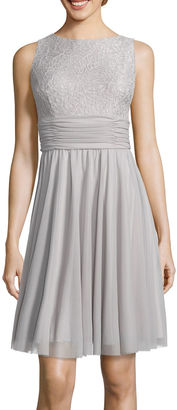 JESSICA HOWARD Jessica Howard Lace Fit-and-Flare Dress $39.99 thestylecure.com