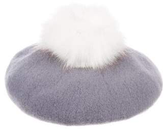 Barneys New York Barney's New York Wool Felt Beret