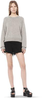 Alexander Wang Cashwool Cropped Sweater