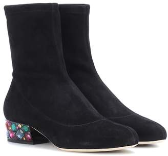 Jimmy Choo Maisie 35 suede ankle boots